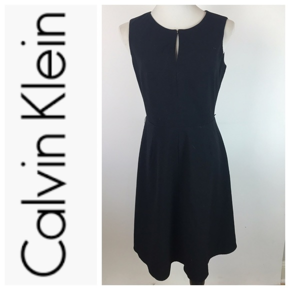 Calvin Klein Dresses & Skirts - Calvin Klein Black Sleeveless Keyhole Dress